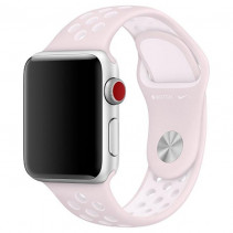 Ремешок Nike+ Apple Watch 38mm Barely Rose/Pearl Pink Nike Sport Band