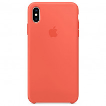 Чехол Apple iPhone XS Max Silicone Case Coral (Original copy)