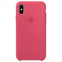 Чехол Apple iPhone XS Max Silicone Case Hibiscus (Original copy)
