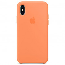 Чехол Apple iPhone XS Max Silicone Case Papaya (Original copy)