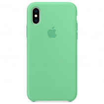 Чехол Apple iPhone XS Max Silicone Case Speartmint (Original copy)