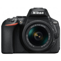 Фотоаппарат Nikon D5600 + AF-P 18-55mm VR + AF-P 70-300mm VR Black Kit (VBA500K004)