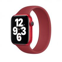 Ремешок Apple Watch Single Loop Strap Silicone 44mm (M) Plum