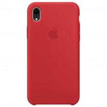 Чехол Apple iPhone XR Silicone Case Red (Original copy)