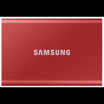 SSD накопитель Samsung T7 500 GB Red (MU-PC500R/WW)