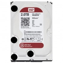HDD Western Digital Red 2TB 5400rpm 64МB 3.5 SATA III (WD20EFRX)