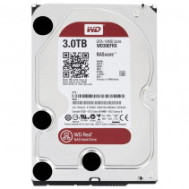 HDD Western Digital Red 3TB 5400rpm 64MB 3.5 SATA III (WD30EFRX)