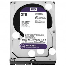 HDD Western Digital Purple 3TB 64MB 5400rpm 3.5 SATA III (WD30PURZ)