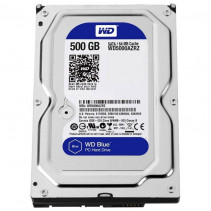 HDD Western Digital Blue 500GB 5400rpm 64МB 3.5 SATA III (WD5000AZRZ)