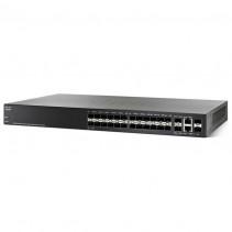 Коммутатор Cisco SB SG300-28SFP 28-port Gigabit SFP Managed Switch