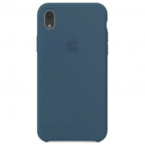 Чехол Apple iPhone XR Silicone Case Cosmos Blue (Original copy)