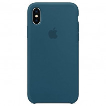Чехол Apple iPhone XS Max Silicone Case Cosmos Blue (Original copy)