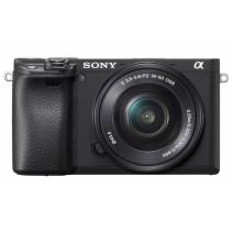 Фотоаппарат Sony Alpha a6400 + 16-50 Black [ILCE6400LB.CEC]