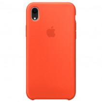 Чехол Apple iPhone XR Silicone Case Coral (Original copy)