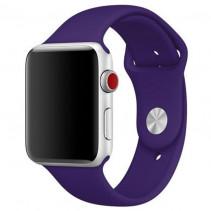 Ремешок Apple Watch 38mm Sport Band (S/M & M/L) Dark Violet