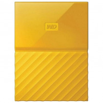 Внешний накопитель Western Digital My Passport 4TB 2.5 USB 3.0 External Yellow (WDBYFT0040BYL-WESN)