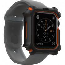 Ремешок UAG для Apple Watch 44 Case, Black/Orange