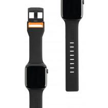 Ремешок UAG для Apple Watch 44/42 Civilian, Black/Orange