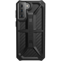 Чехол UAG для Samsung Galaxy S21+ Monarch, Carbon Fiber
