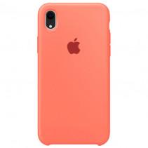 Чехол Apple iPhone XR Silicone Nectarine (Original copy)