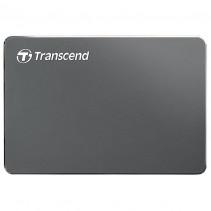 """Внешний накопитель Transcend StoreJet 25C3 1TB 5400rpm 2.5"""" USB 3.0 External Iron Gray (TS1TSJ25C3N)"""