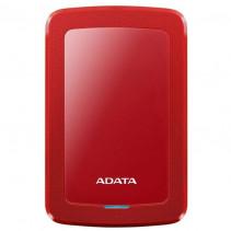 Внешний накопитель Adata DashDrive HV300 1TB 2.5 USB 3.1 External Slim Red (AHV300-1TU31-CRD)