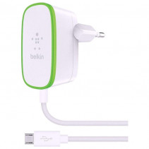 Сетевое ЗУ Belkin USB Home Charger (2.4Amp) c кабелем Micro-USB (F7U009vf06-WHT)