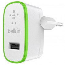 Сетевое ЗУ Belkin USB Home Charger (2.4Amp) c кабелем Lightening to USB-A, 1.2m, Wht