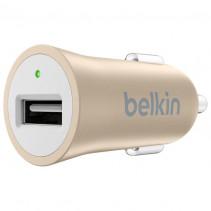 Автомобильное ЗУ Belkin USB Mixit Premium (USB 2.4Amp), Gold (F8M730btGLD)