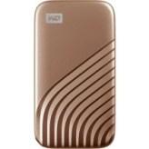 Портативный SSD накопитель WD Passport USB 3.0 1TB Gold (WDBAGF0010BGD-WESN)