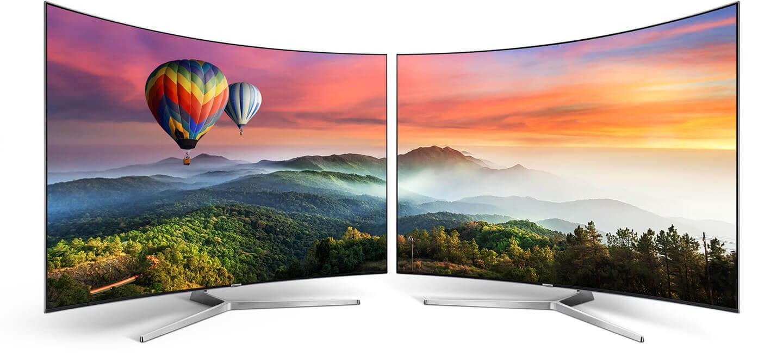 Телевизоры на квантовых точках Samsung QLED 4K