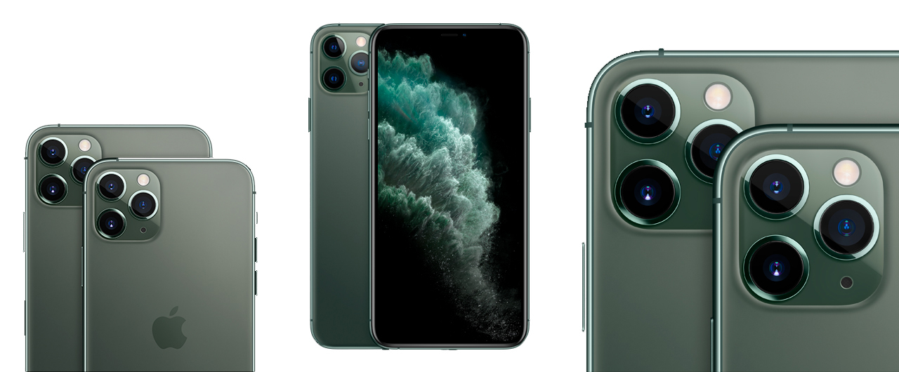 Камеры Айфона 11 Про Макс